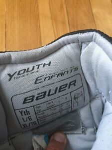Bauer goalie pants youth large / xtra large West Island Greater Montréal image 2
