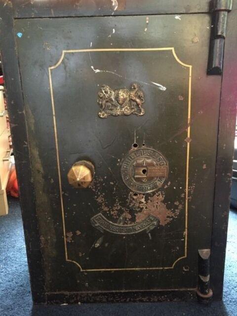 Antique Fire Resistant Safe for sale - Philips and Sons Birmingham Vintage  Collectors Item! | in Preston, Lancashire | Gumtree