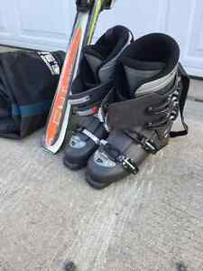 Mens downhill ski package