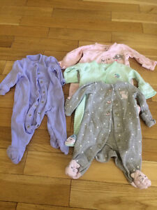 Various Baby Girl/Neutral Lots of Clothing NB-3M