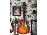 Epiphone Les Paul Guitar and Vox amp for sale