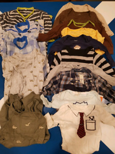 Lot of Winter Baby Clothing 9-12 months + SNOWSUIT
