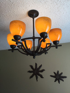 CEILING LIGHT FIXTURE...MINT