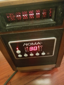 NOMA Infrared Heater & Humidifier Model 043-6174-8