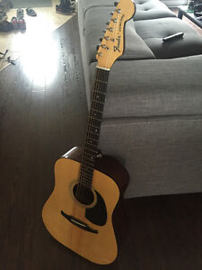 Fender Concord Acoustic Guitar 1980's / Guitare acoustique