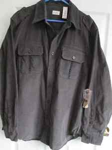 "Men's ""Nevada"" Fine-Wale Corduroy Shirts Large *NEW WITH TAGS*"