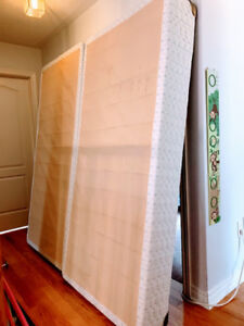 King Box Spring and Frame - Clean
