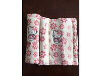 Hello Kitty seatbelt neck protectors