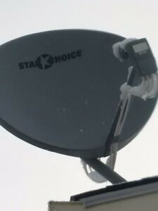 Starchoice/Shaw satellite dish & receivers