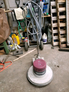 MINUTEMAN 2 SPEED FLOOR POLISHER SANDER