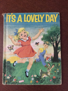 It's a Lovely Day vintage book