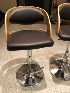 Two Beautiful Modern Bar Stools from Casalife