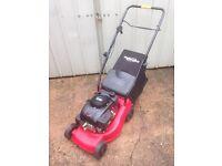 "Power devil petrol lawnmower 16"" 400mm cut"