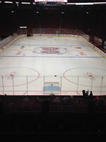 MONTREAL CANADIENS TICKETS IN REDS SECTION 107 ROW S