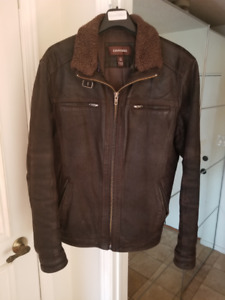 DANIER Bomber leather jacket