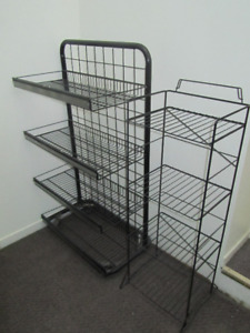 2 Metal Shelves / Good Clean Condition / Lindsay / $30 for both