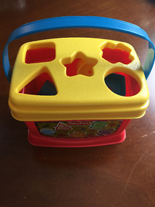 Fisher Price Shapes Box