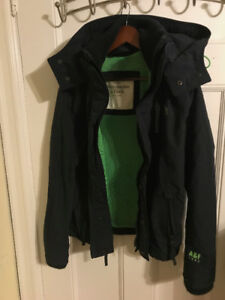 Abercrombie & Fitch Jacket Winter/Fall Vintage Small Mens