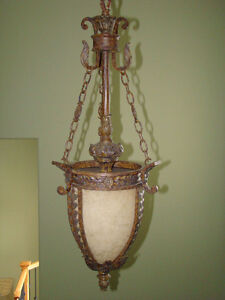 Chandelier old bronze finish