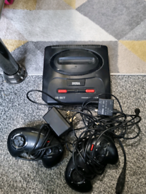 Mixed old games consoles