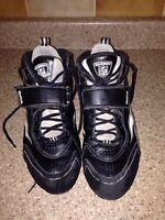 Football cleats  size 9 1/2