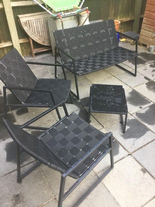B Q Garden Furniture set plus cover. B Q Garden Furniture set plus cover   in Headington  Oxfordshire