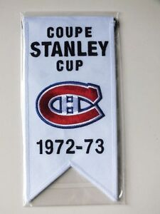 CENTENNIAL STANLEY CUP 1972-73 BANNER MONTREAL CANADIENS HABS Gatineau Ottawa / Gatineau Area image 1