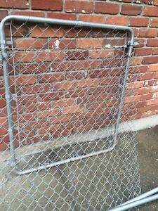 60' Chain link fence