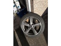 "VW T5 Wolfrace 18"" Alloy Wheels & Tyres"