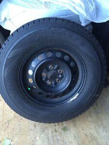 235/70/16 Pirelli Scorpion Ice & Snow Tires & Rims -$850