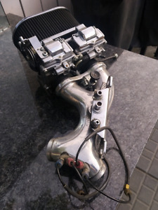 Duel  Carb setup with nitrous for HD