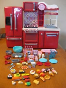 "18"" DOLL KITCHEN OUR GENERATION DOLL  LIKE AMERICAN GIRL DOLLS"