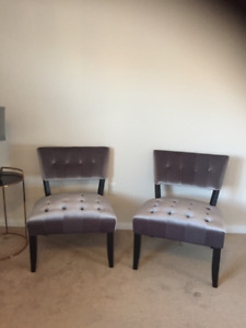Bowring accent chairs