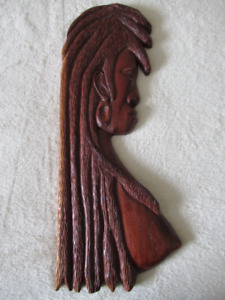 African wood carving (wall hanging)