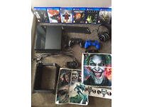 PlayStation 4 and all accessories
