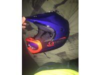 Tech motorcross helmet