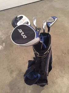 Golf bag and 5clubs