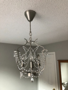IKEA Ceiling Chandelier Light (KRISTALLER)