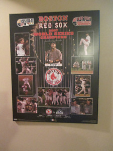 Boston Red Sox World Series Pictuer