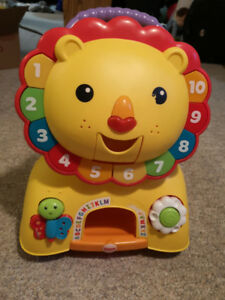 Fisher Price Sit and Stand Lion