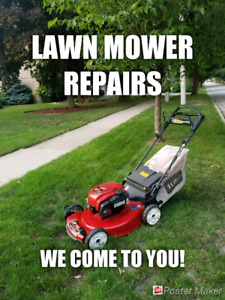 Mobile Lawn Mower Repair * HOME VISITS * Lawnmower mover