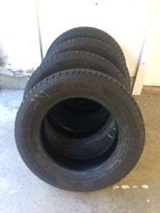 A set of Tires for sale 225x65xR17 - good as new!