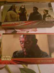 Topps Star wars episode 1 trading cards. make an offer