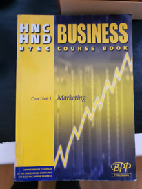 HND, HNC Business Marketing
