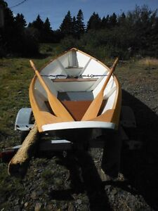 Gloucester light weight rowing Dory