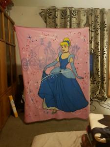Disney Cinderella Fleece Throw Blanket