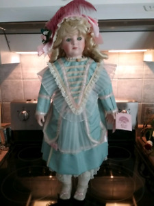 "26"" Bisque Bebe' Doll"
