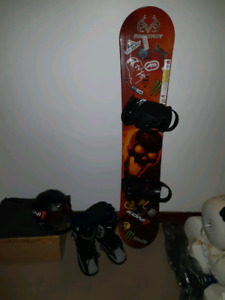 Lamar Snowboard Package