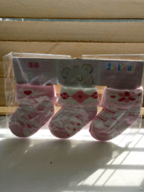 Baby socks 3-6 months