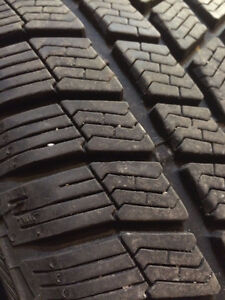 Snow tires from Honda Civic